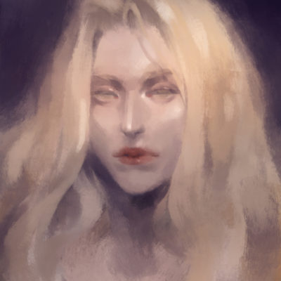 Painting of Alucard